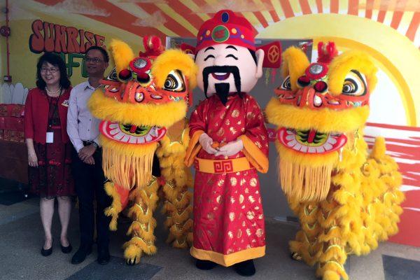 Twin-Lions-&-Mascot